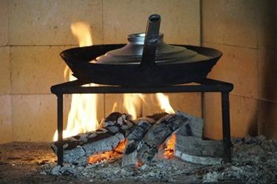 Cooking on wood fire - Picture of Experta Tours - Village Cooking ...