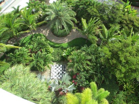 Seven Stars Resort & Spa : jardim hotel