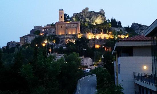 Eza Vista : Midieval Walled City at Night