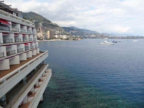 Fairmont Monte Carlo : View from our balcony!