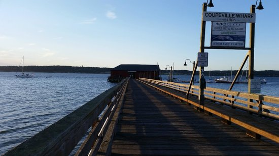 Front Street Grill: The View - Coupville Wharf