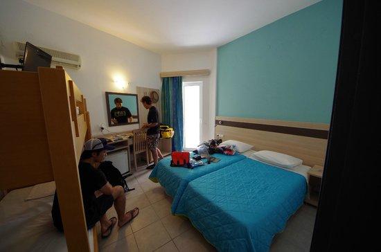 Moschos Hotel: 客室