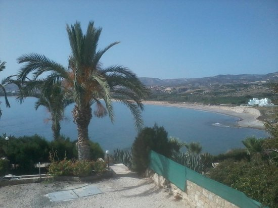 Vrachia Beach Resort : view from hotel room