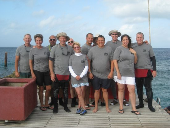 Florida Underwater Sports: The Curacao crew