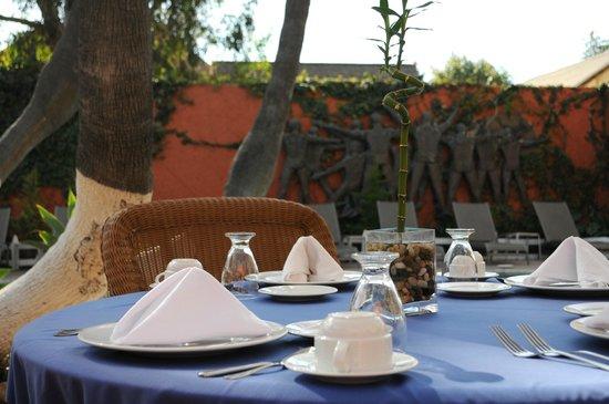 Hotel Palacio Azteca: Alberca