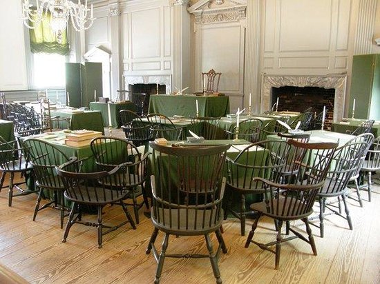 Independence Hall: Great men deliberated here