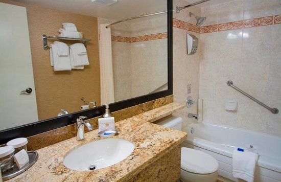 Best Western Plus Inner Harbour: Bathroom in studio