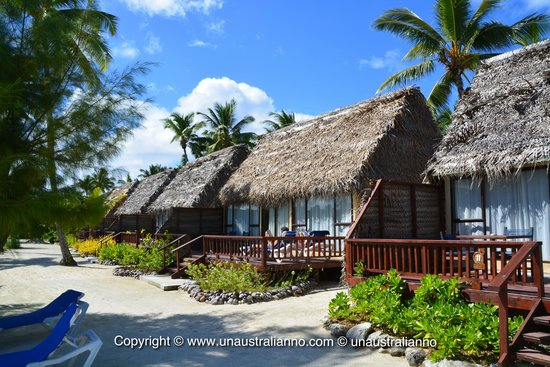 Aitutaki Lagoon Resort & Spa: beach front bungalow