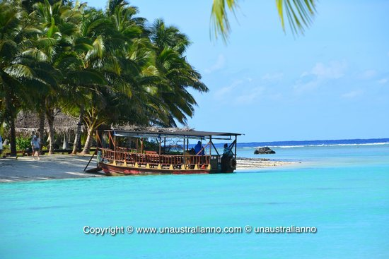 Aitutaki Lagoon Resort & Spa: transfer to the resort