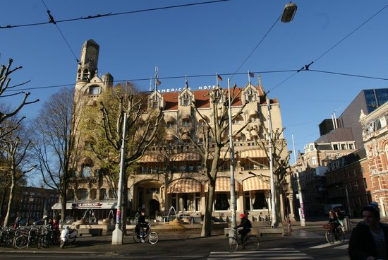 American Hotel Amsterdam: Fachada