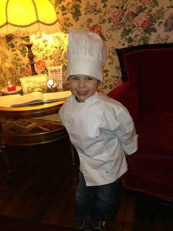 He's not really a chef - he just plays one at the Golden Eagle Inn!