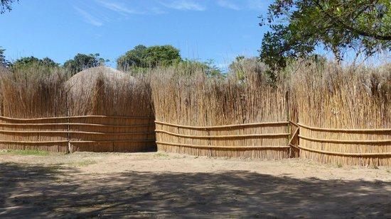 Matsamo Cultural Village: Traditional Swazi Village Behind Fence