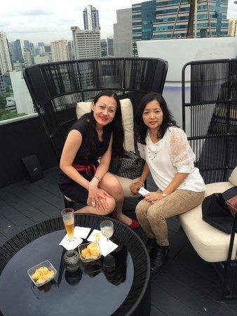 Hilton Singapore: Relax & unwind@Rooftop