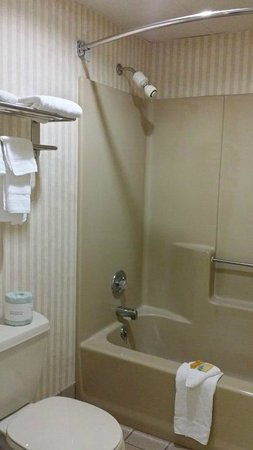 Knights Inn Greeneville : Bathroom