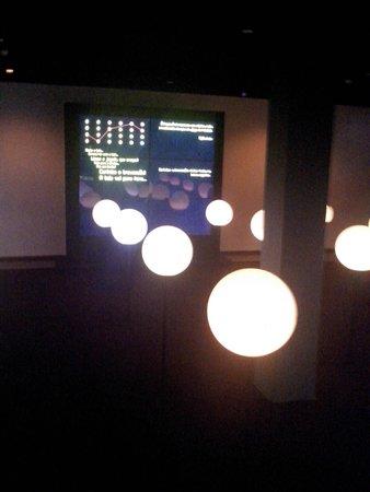 Museu da Lingua Portuguesa: Exposição sobre Futebol