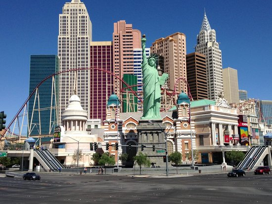 New York - New York Hotel and Casino : New York New York Hotel Las Vegas, NV