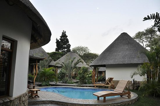 Lodge Afrique: View of the Afrique