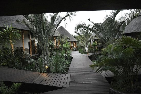 Lodge Afrique : Stroll thru the Afrique