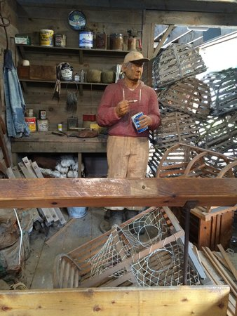 Maine Maritime Museum: Lobsta' Fisherman