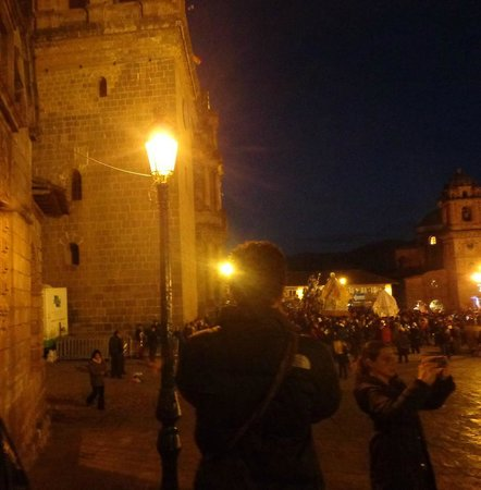 Catedral del Cuzco o Catedral Basílica de la Virgen de la Asunción: Festividades Corpus Cristhi en la Catedral