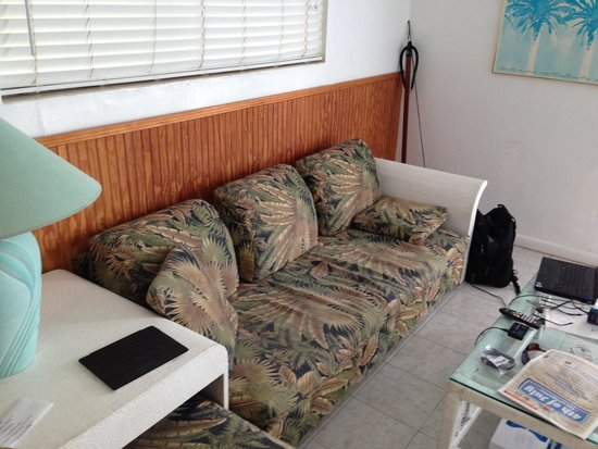 Rainbow Bend Fishing Resort: Couch