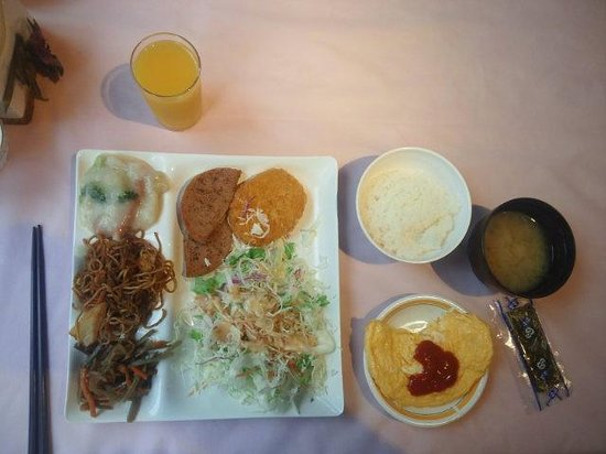 Urban Hotel Tsukuba: 朝食