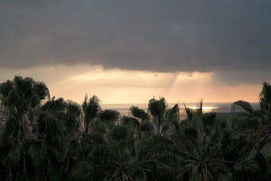 Luana Inn: Beautiful Sunset