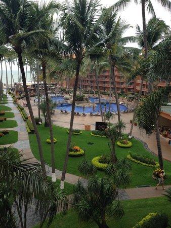 Villa del Palmar Beach Resort & Spa: Pool view from the room