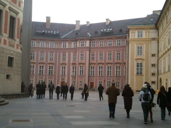 Château de Prague : 旧王宮 きれいなピンク