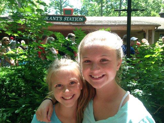 Grant's Farm: Fun times