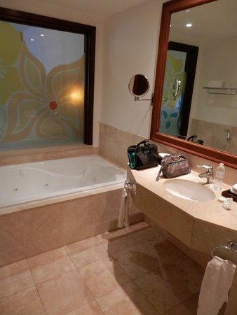 Now Larimar Punta Cana : The bathroom