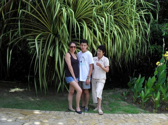 Tropical Princess Beach Resort & Spa : EN FAMILIA