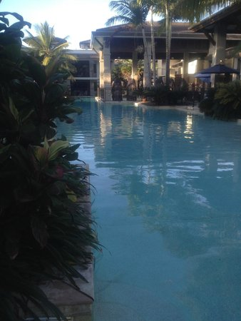 Pullman Port Douglas Sea Temple Resort & Spa : The view of the pool from our swimout!