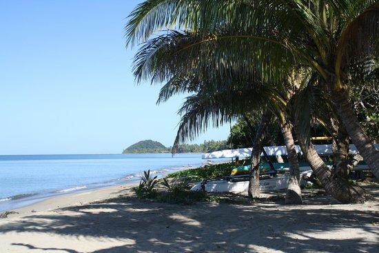 Uprising Beach Resort : View from oceanfront bure