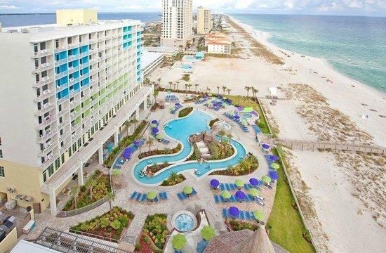 Holiday Inn Resort Pensacola Beach: view of lazy river pool