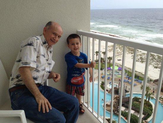 Holiday Inn Resort Pensacola Beach: 8th floor view