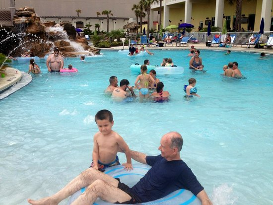 Holiday Inn Resort Pensacola Beach Lazy River Pool