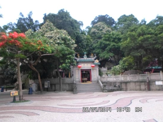 A-Ma Temple (Ma Kok Miu): Entrance