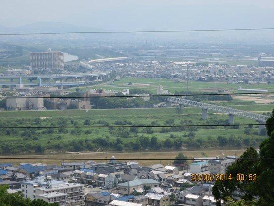 Mt. Otokoyama Cable Car: View of surrounding