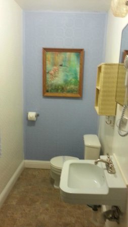 Buona Sera Inn: bathroom (shower to the left)