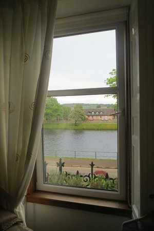 Macrae Guest House: View from the upstairs bedroom
