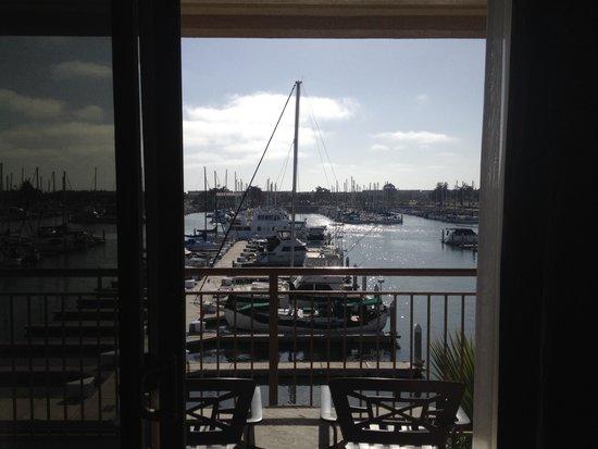 Hampton Inn Channel Islands Harbor: ~Harbor View From Room~