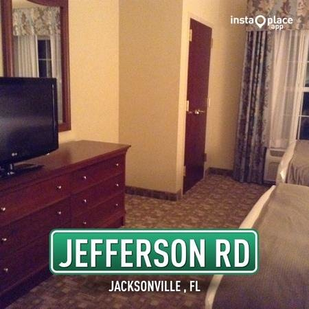 Holiday Inn Express Jacksonville East: another room shot