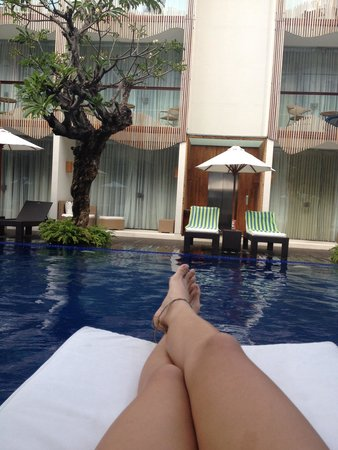 The Bene Hotel : Chilling by the pool is always the best!