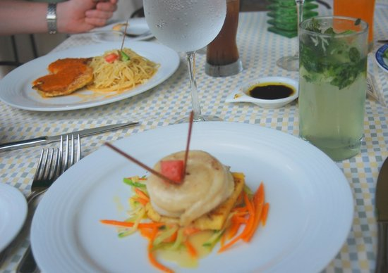 Gran Porto Resort and Spa: I enjoyed the white fish with an orange buerre blanc - IL Pescatore