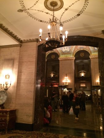 The Palmer House Hilton : The Grand Lobby where you check in :)