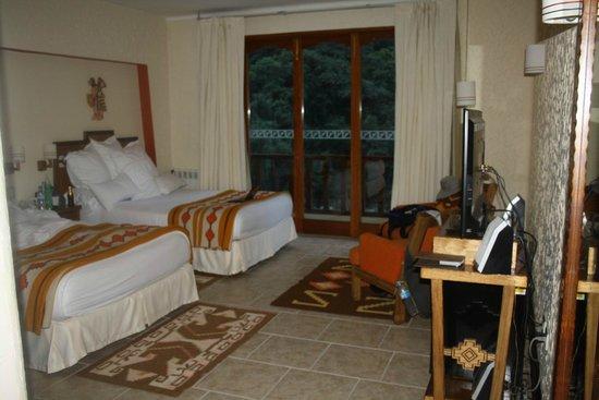 SUMAQ Machu Picchu Hotel: 3rd floor over looking river.