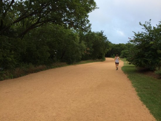 Zilker Metropolitan Park : Running trails at Zilker Park