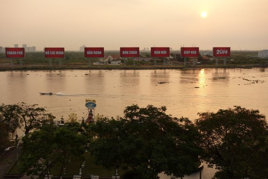 Hotel Majestic Saigon: 部屋からのビュー