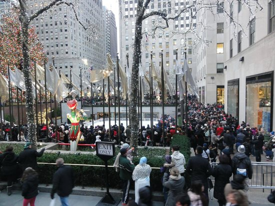 Rockefeller Center : Panorama